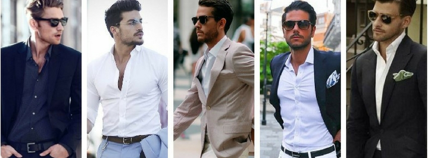 Men's Style Guide On Spring Color