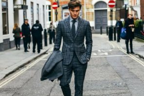 The Men's Guide To Wearing A Modern Suit- Infographic